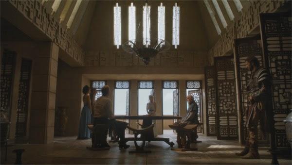 El consejo de Daenerys Targaryen en Meereen (Juego de Tronos 4x05)