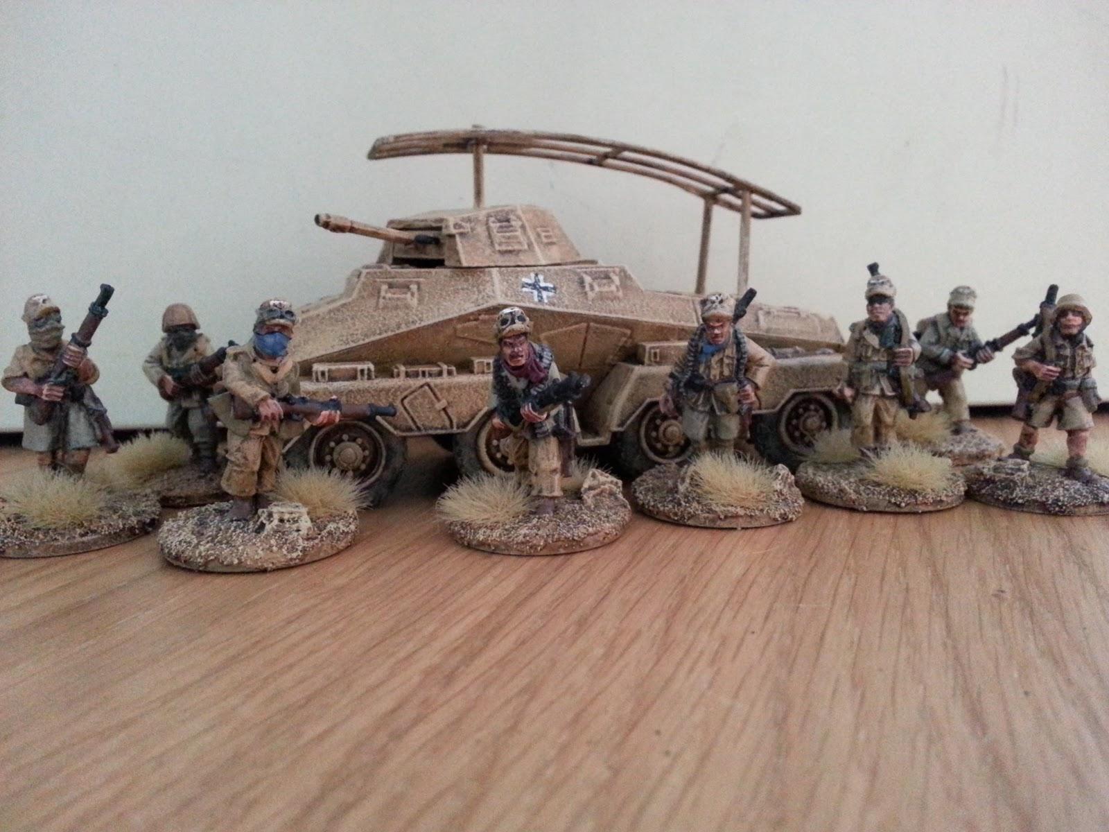 Amazon.com: Vallejo 1941-1942 German Africa Korps (DAK ...