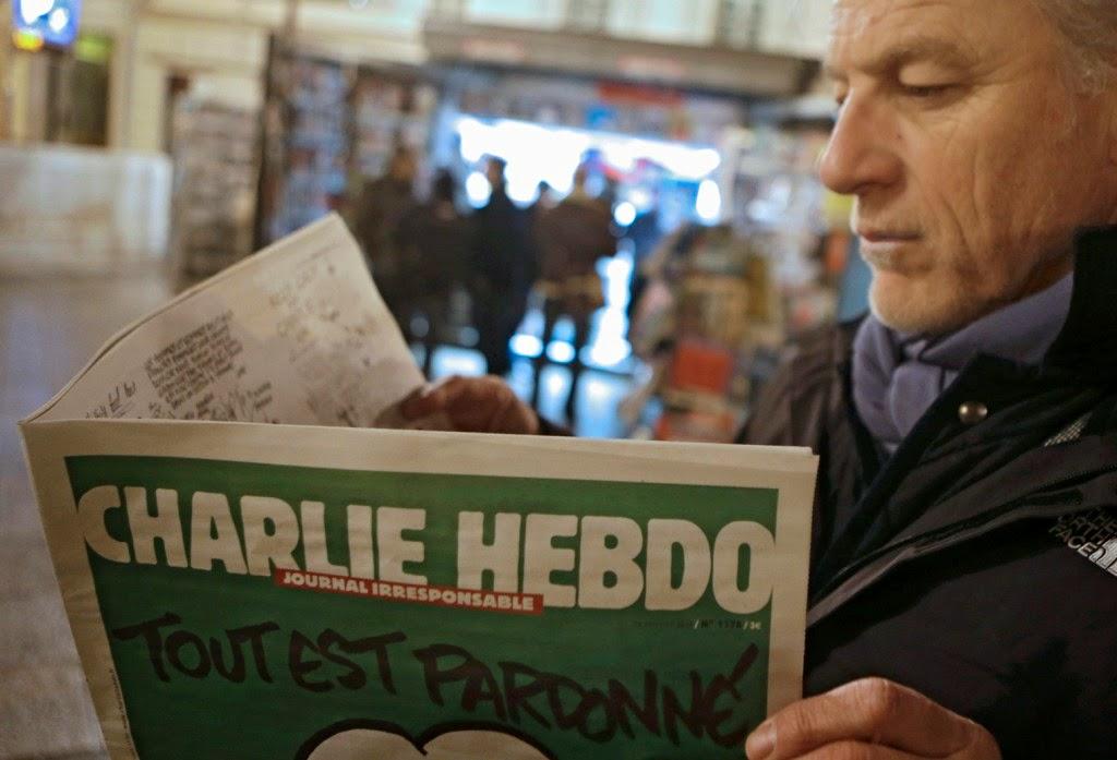 Charlie Hebdo, Je Suis Charlie, média, szatíra, sajtó, karikatúra, terrorizmus, párizsi vérengzés,