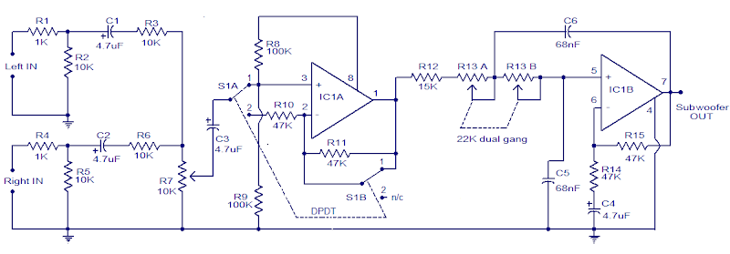 Remarkable Car Subwoofer Circuit Diagram Basic Electronics Wiring Diagram Wiring Digital Resources Remcakbiperorg