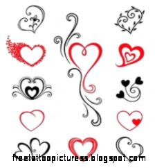 Heart Tattoos on Pinterest  Heart Tattoo Designs Butterfly