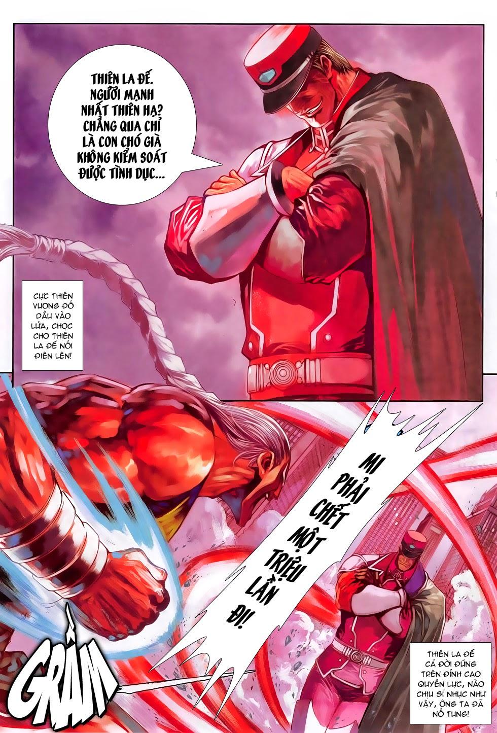 Ba Động Quyền Z Hadouken Zero chap 15 - Trang 15