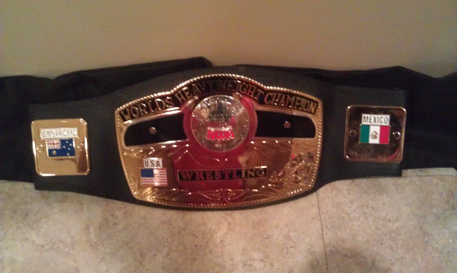 Deal of the Week - Original NWA Title Belt