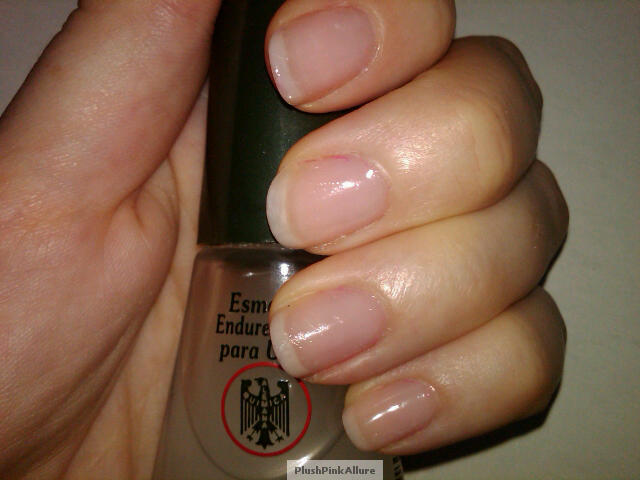 Plush Pink Allure Quimica Alemana Nail Hardener