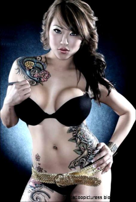 Tatooed Woman Photo by mahes666  Photobucket