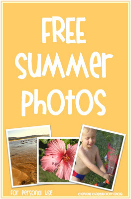 Image Free Summer Photos for personal use for the classroom beach theme