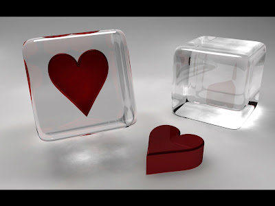 Glass Heart Wallpapers HD