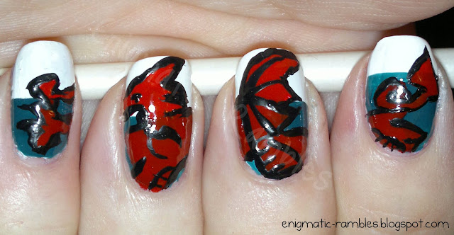 st_davids_day_welsh_flag_nails