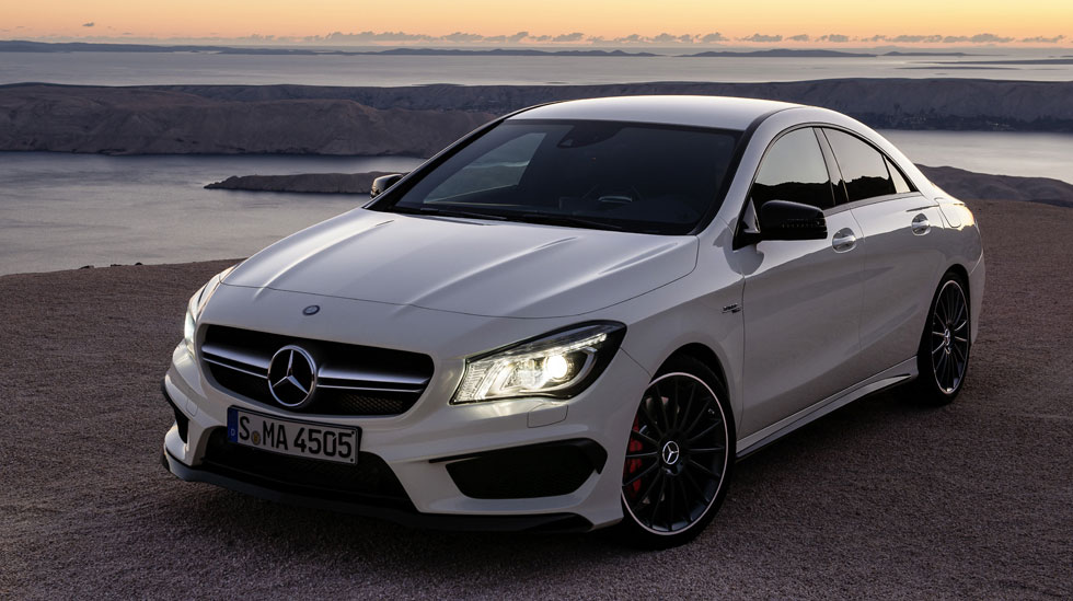 World Automobile Attractions 2014 Mercedes Benz Cla45 Amg