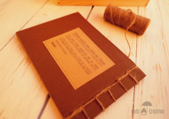 diario luna de miel Gota Creativa