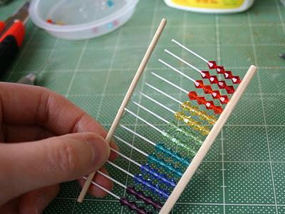 Cómo hacer un ábaco con palillos chinos en Recicla Inventa