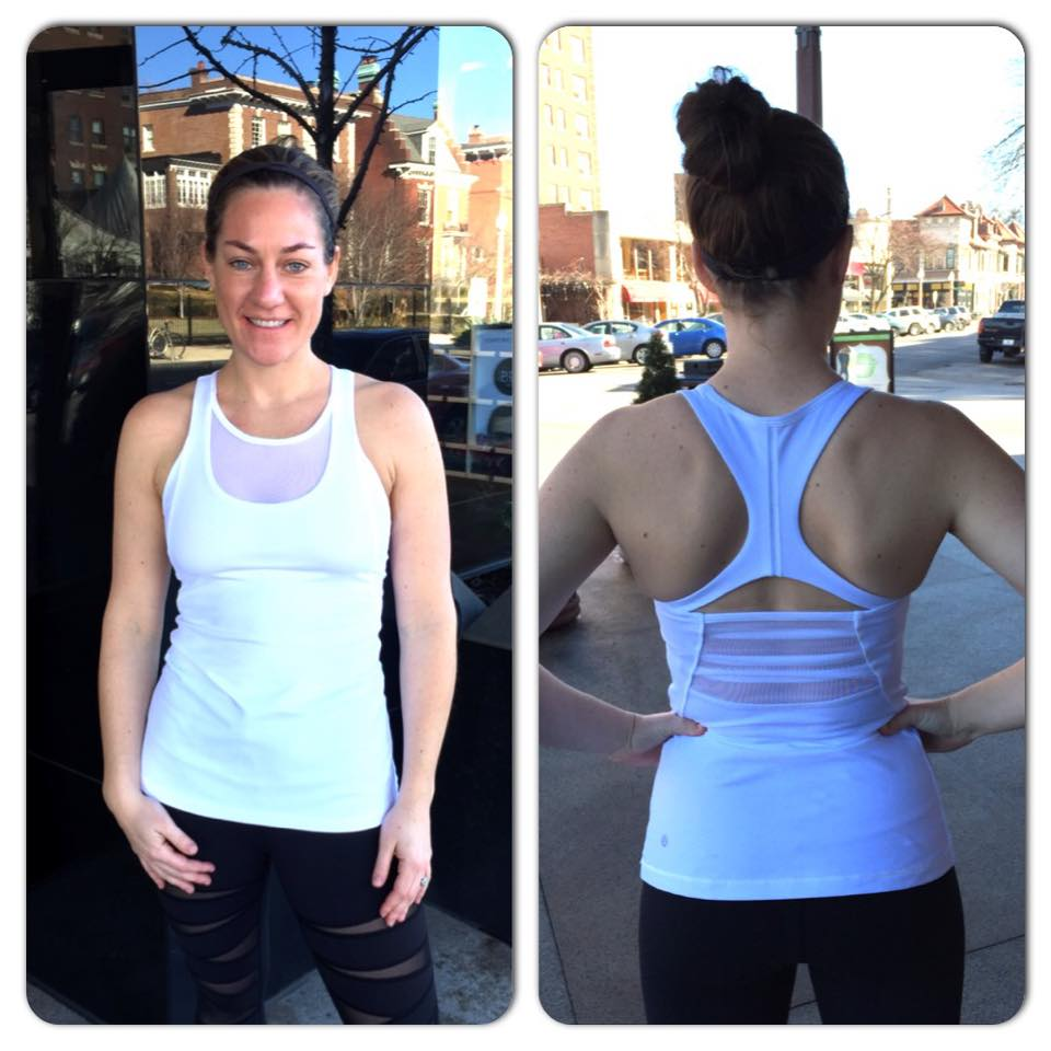 lululemon mesh with me tank