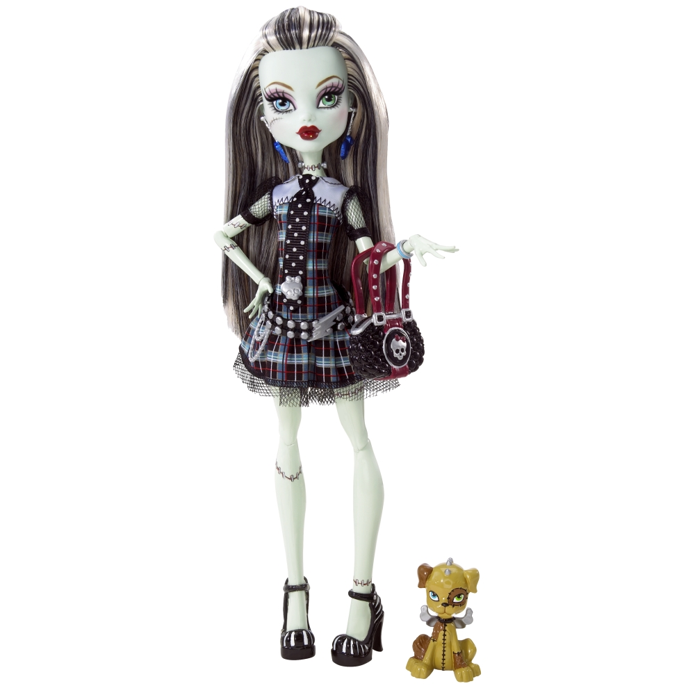 TOYS: Frankie Stein : Monster High [2009-2012] Diseño Original - Action Figure- Doll - Muñeca