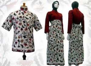 baju batik Muslim 01w