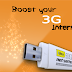 How to Increase the Internet Speed In 3G Netsetter