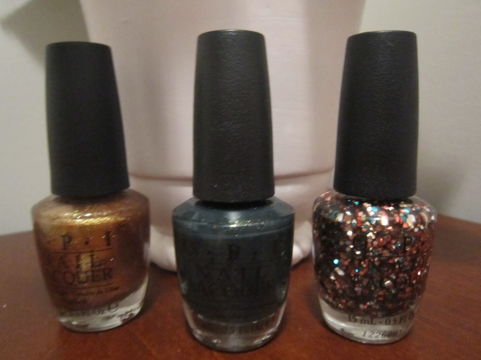 My Makeup Issues: OPI Skyfall James Bond 007 Collection Nail ...