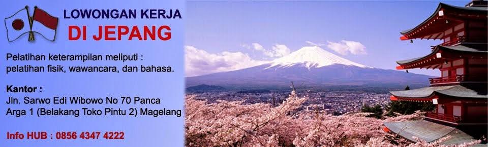 Info Magang ke Jepang, Lowongan Magang Jepang