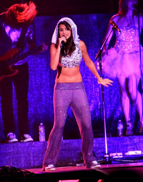 Selena Gomez Performs at Darien Lake Theme Park
