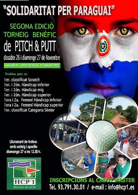 Torneig Solidari Paraguay Pitch & Putt HCP1