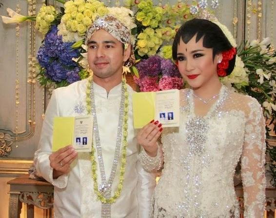 Pernikahan Nagita Slavina Raffi Ahmad