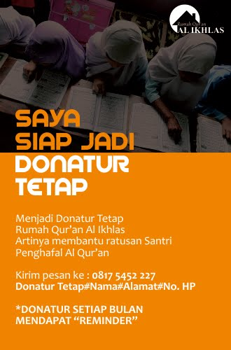 Siap Jadi Donatur