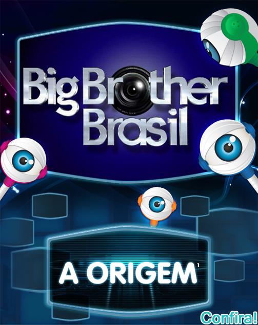 Infográfico sobre a história do Big Brother Brasil - Tudo sobre o BBB13