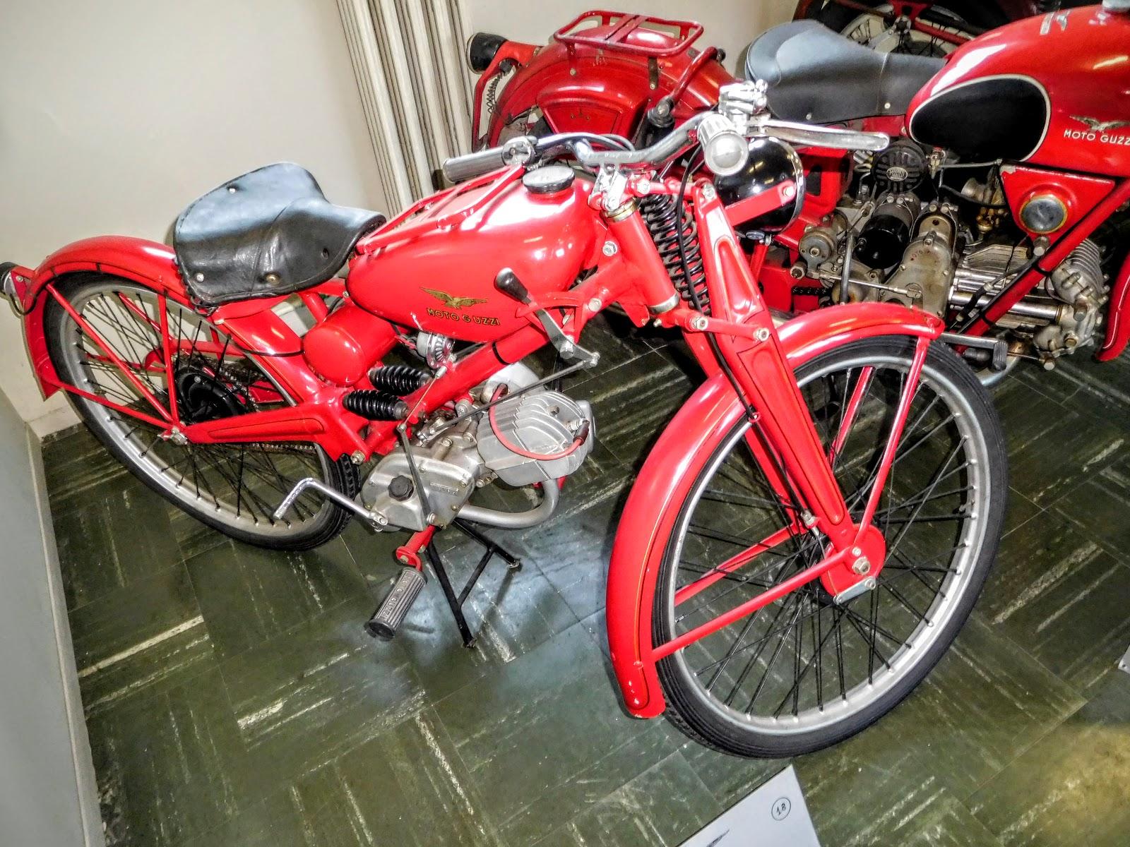 Tigho NYDucati: 1947 Moto Guzzi Motologerra 65