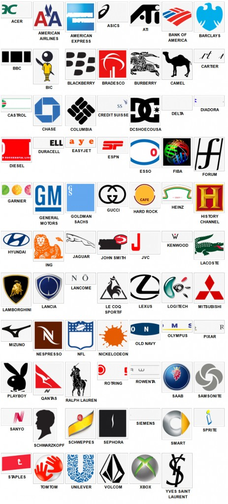 Logos Quiz Answers: Solutions