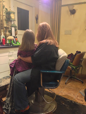 Mother Daughter Matching Haircuts
