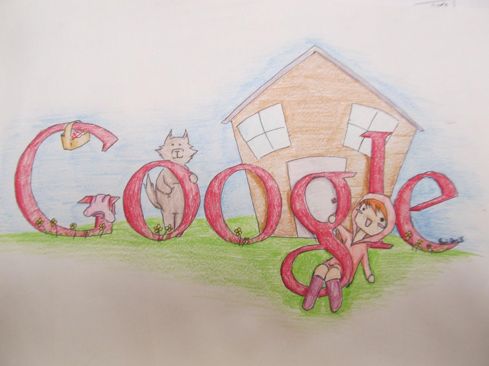 Scribble Google Drawing : Art teacher creature google drawings