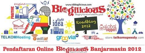 Blogilicious 2012 Banjarmasin