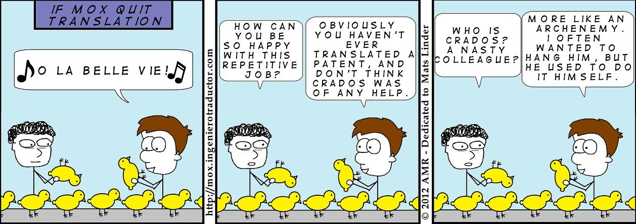 cartoon career switch translation