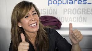 Sánchez Camacho cobra del partido, como senadora, dietas de diputada autonómica y trienios del Ministerio de Trabajo. Su sueldo supera al de la secretaria general del partido y presidenta de Castilla-La Mancha.