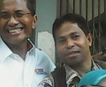 Adam Rumbaru dan Menteri BUMN Dahlan Iskan