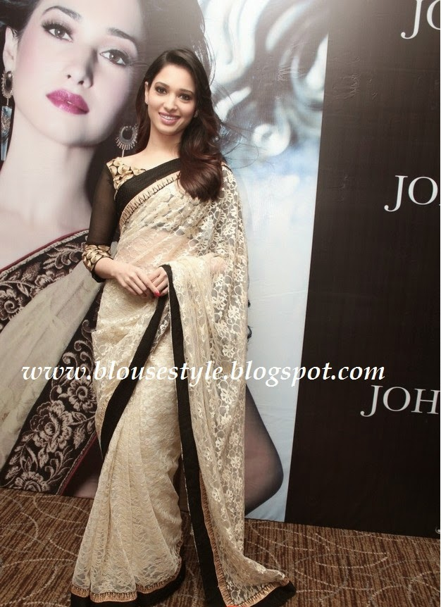 tamanna in latest saree still