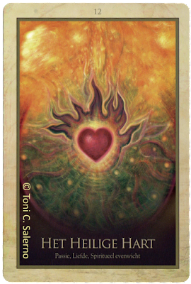 Gaia Oracle, Sacred heart, Toni Salerno