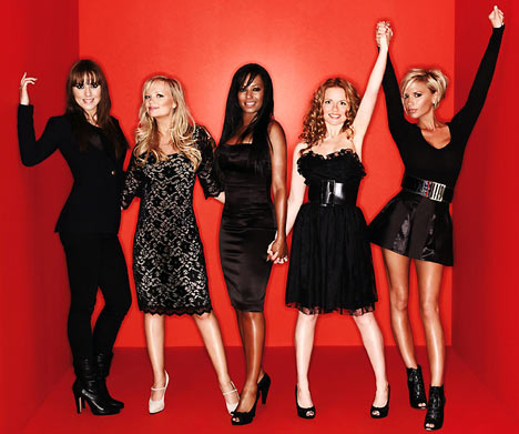 Spice girls teen pop
