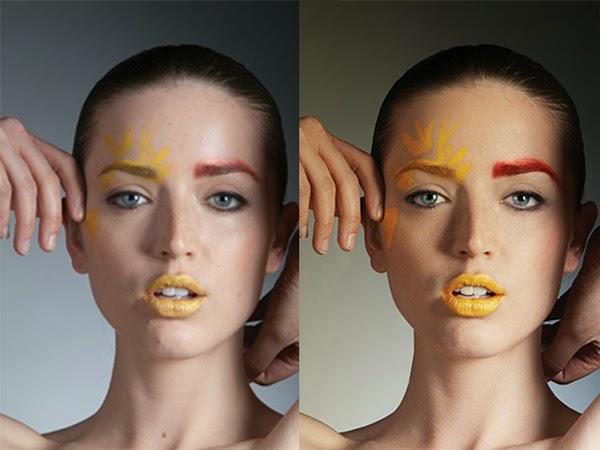 A creatively retouch portrait photos