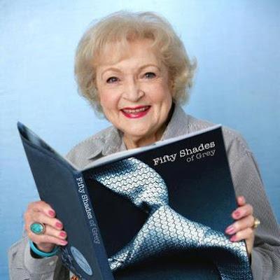 Betty White 50 Shades of Grey