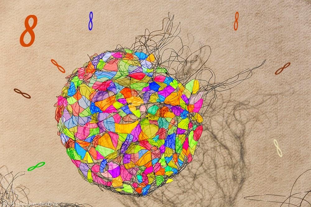 Destellos de colores