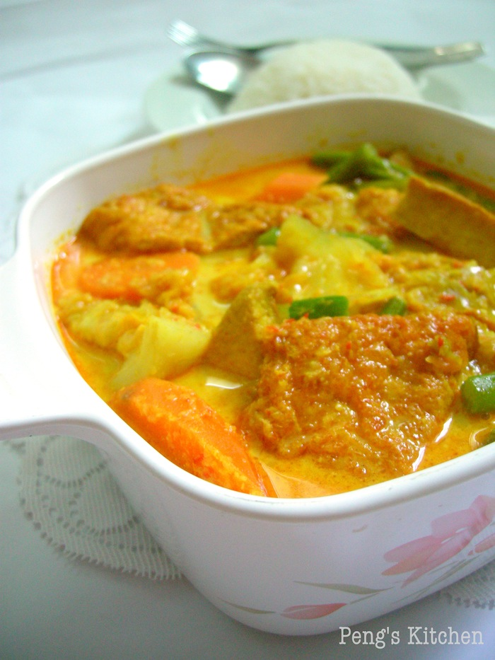 Pengs KitchenLontong Sayur Lodeh/Mix Vegetable in Coconut Broth
