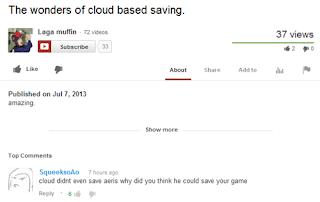 cloud based saving Morning LOL   Cloud Based Saving