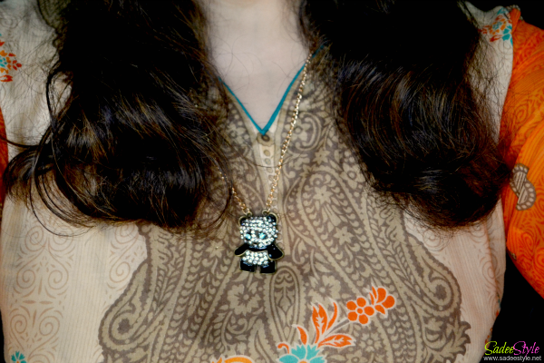Sweet Fashion Syle Rhinestone Panda
