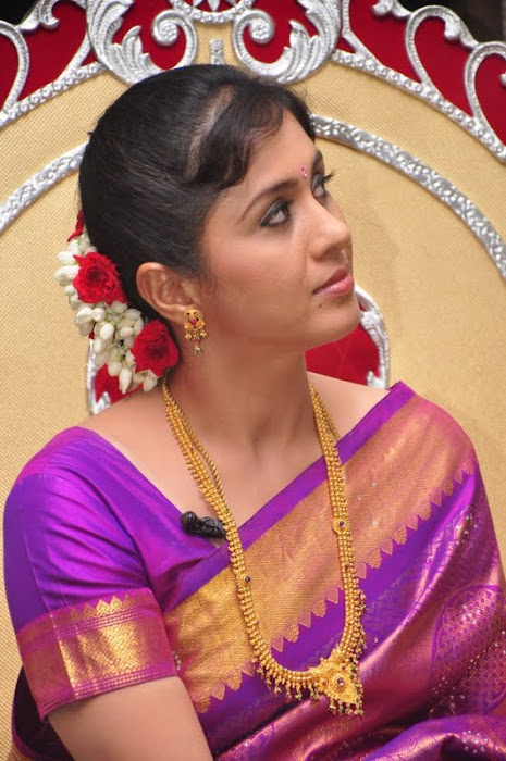 devayani new saree @ kodi mullai tv serial success meet actress pics