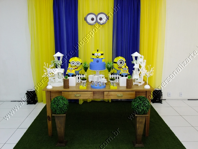 decoracao festa minions : decoracao festa minions:Decoração de festas, lembrancinhas personalizadas, bolos