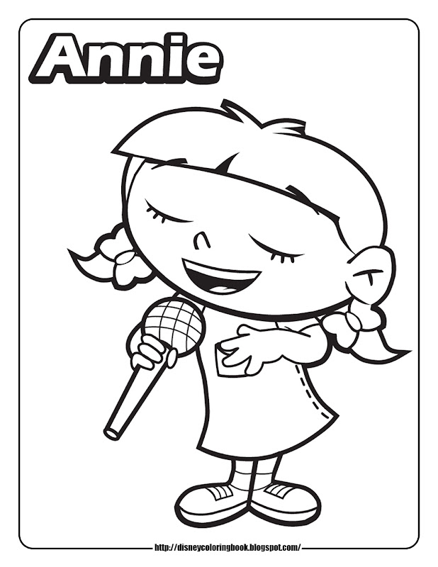 Disney Junior Coloring Pages To Print Disney Jr Coloring Pages