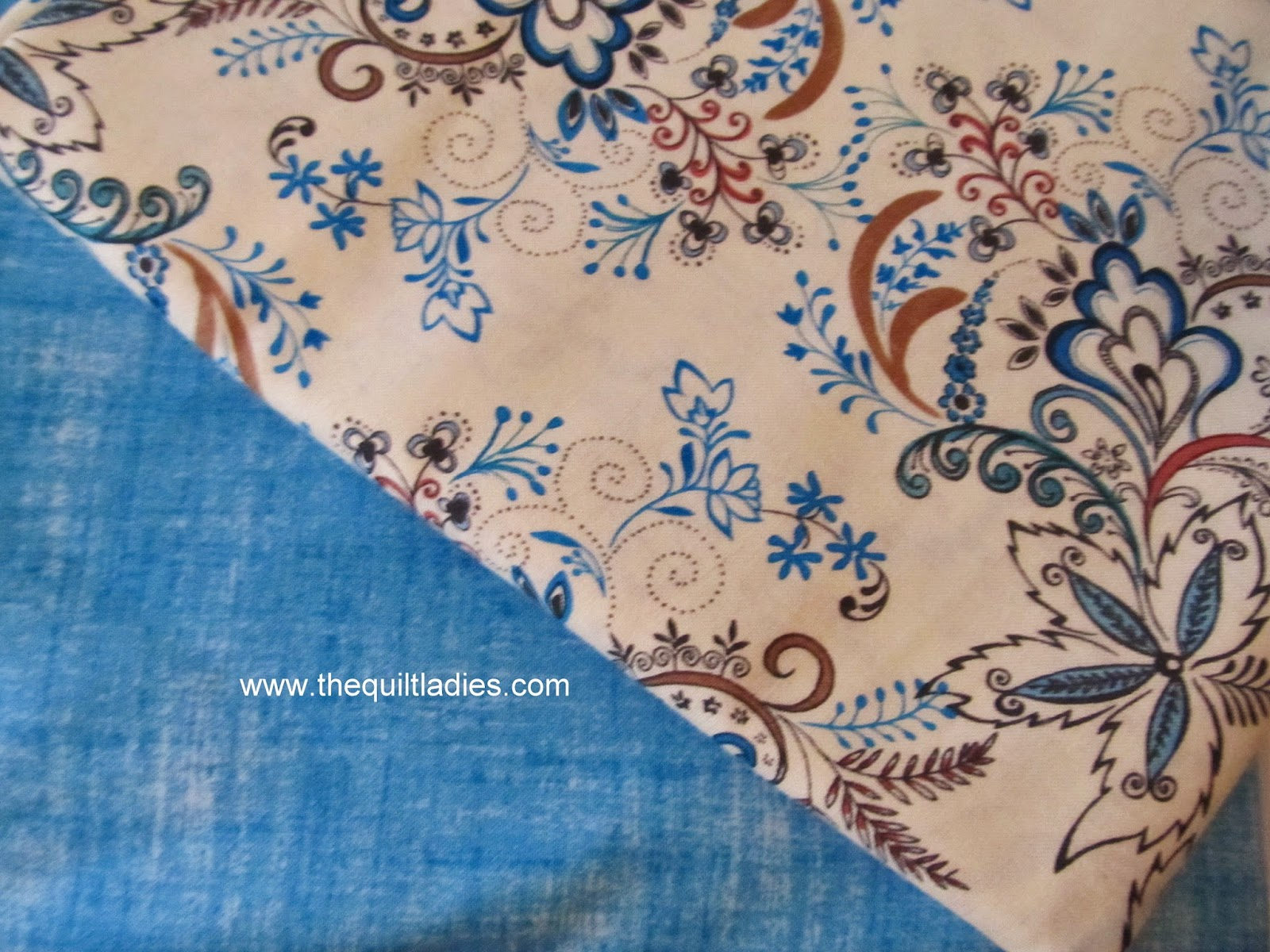 fabric for a log cabin quilt