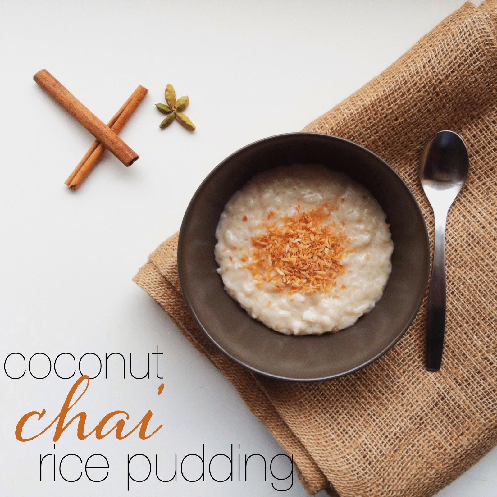 A Pretty Prairie Life: In the Kitchen: Coconut Chai Rice ...