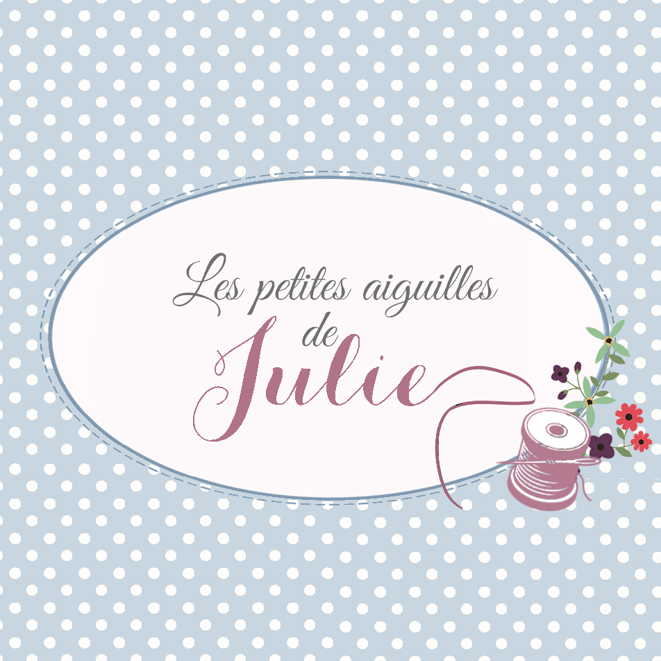happiness moment joli logo les petites aiguilles de julie. Black Bedroom Furniture Sets. Home Design Ideas