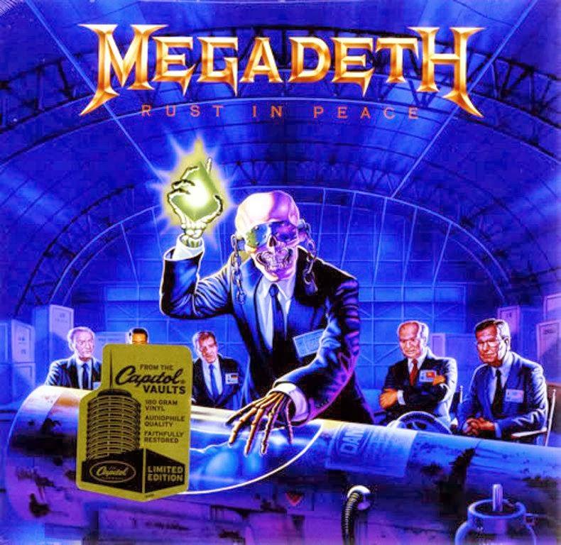 Megadeth Rust In Peace Cd MP3 - Internacional | ...